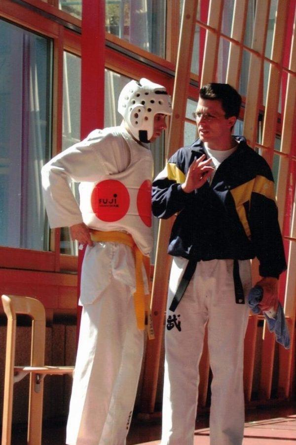Marc Meier pratique et enseigne le taekwondo depuis de nombreuses années déjà